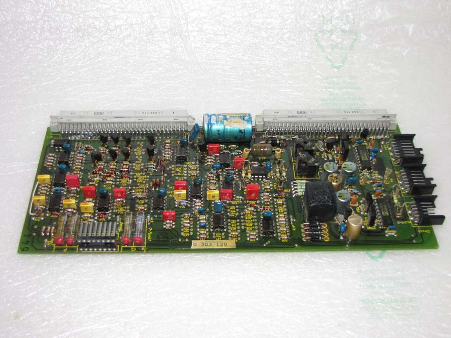 Arburg CMD series Bosch B 830-303-128 servo valve amplifier card
