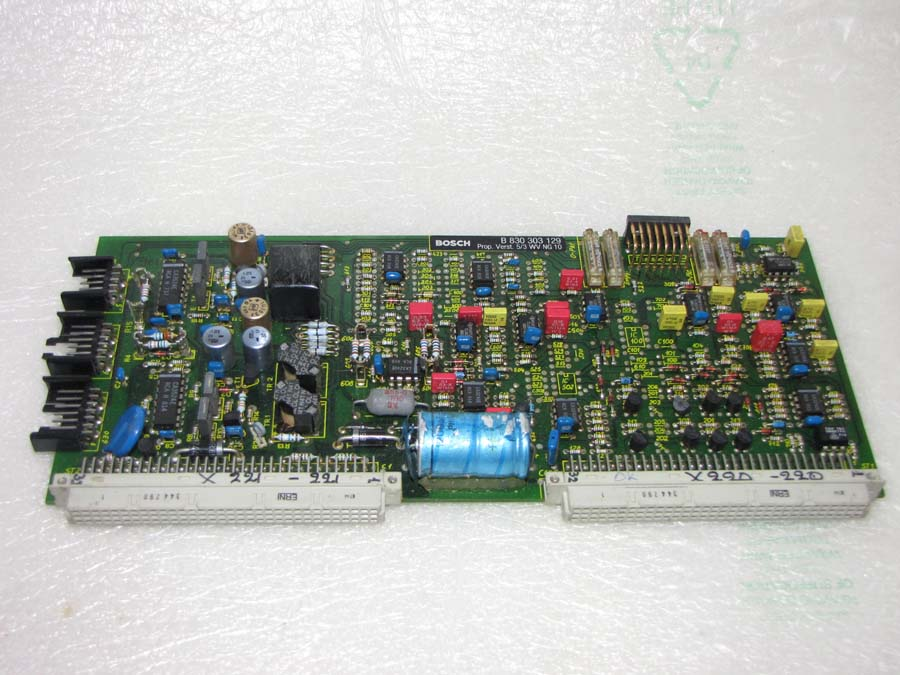 Arburg CMD series Bosch B 830-303-129 servo valve amplifier card