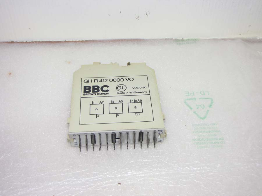 BBC And card input GH R 412