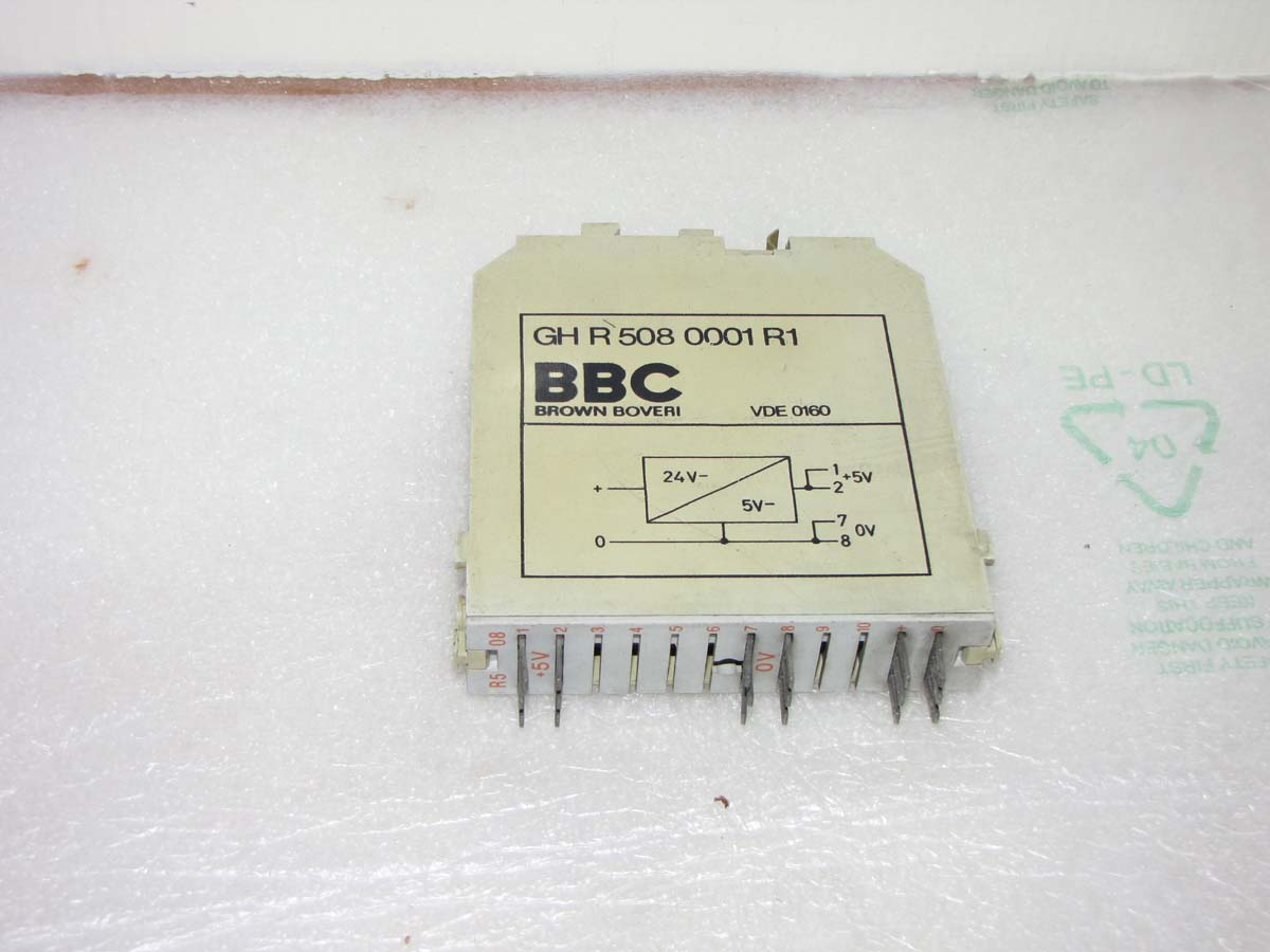 BBC card in 24v dc out 5v dc GH R 508