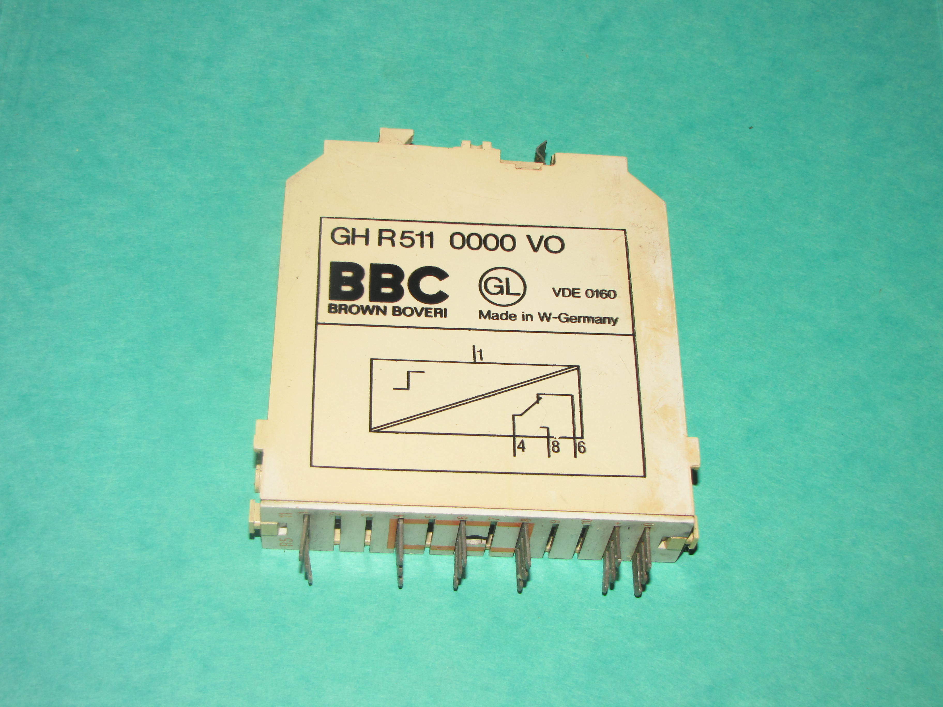 BBC out relay card GH R 511
