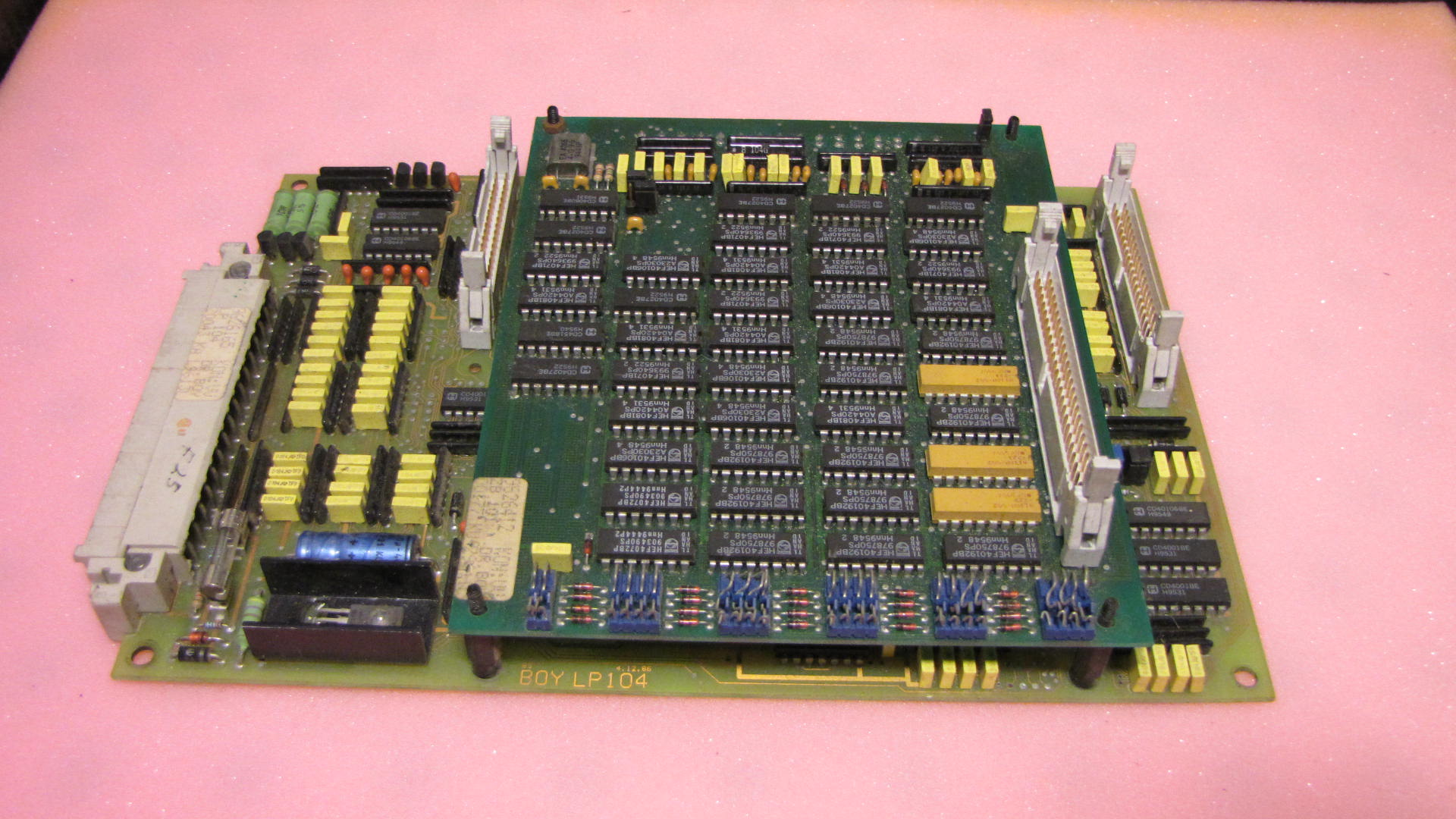 BOY Dipronic LP 104 control card