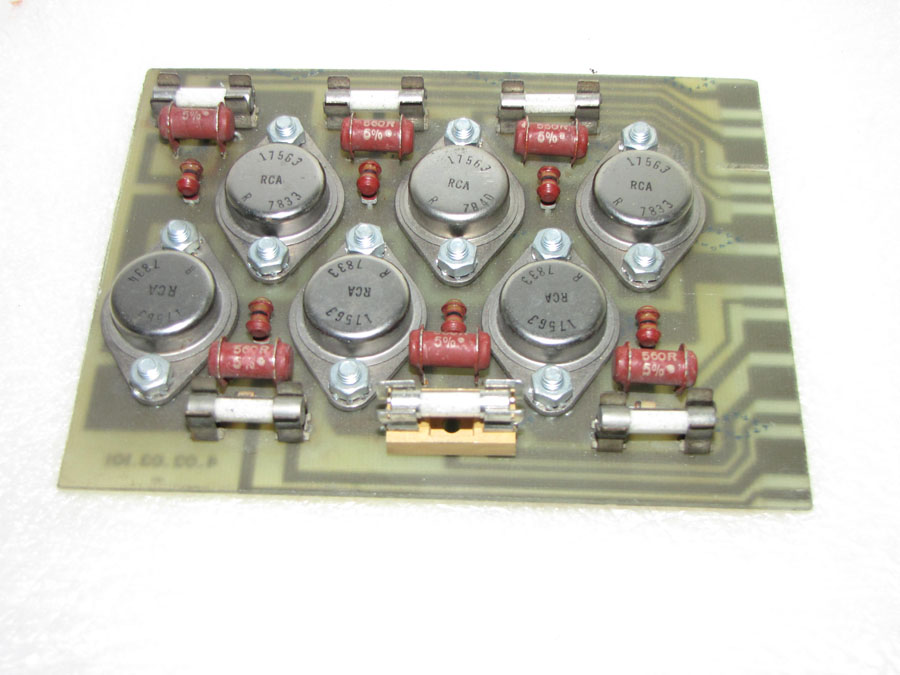 Battenfeld SCHILEICHER series 4-03-03 6X 24 v dc 2A out valve card