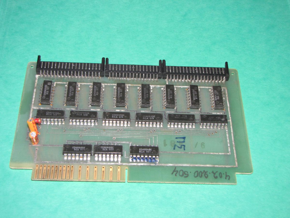 Battenfeld SCHILEICHER series 4 -02 -200- 405 c-mos out panel  card