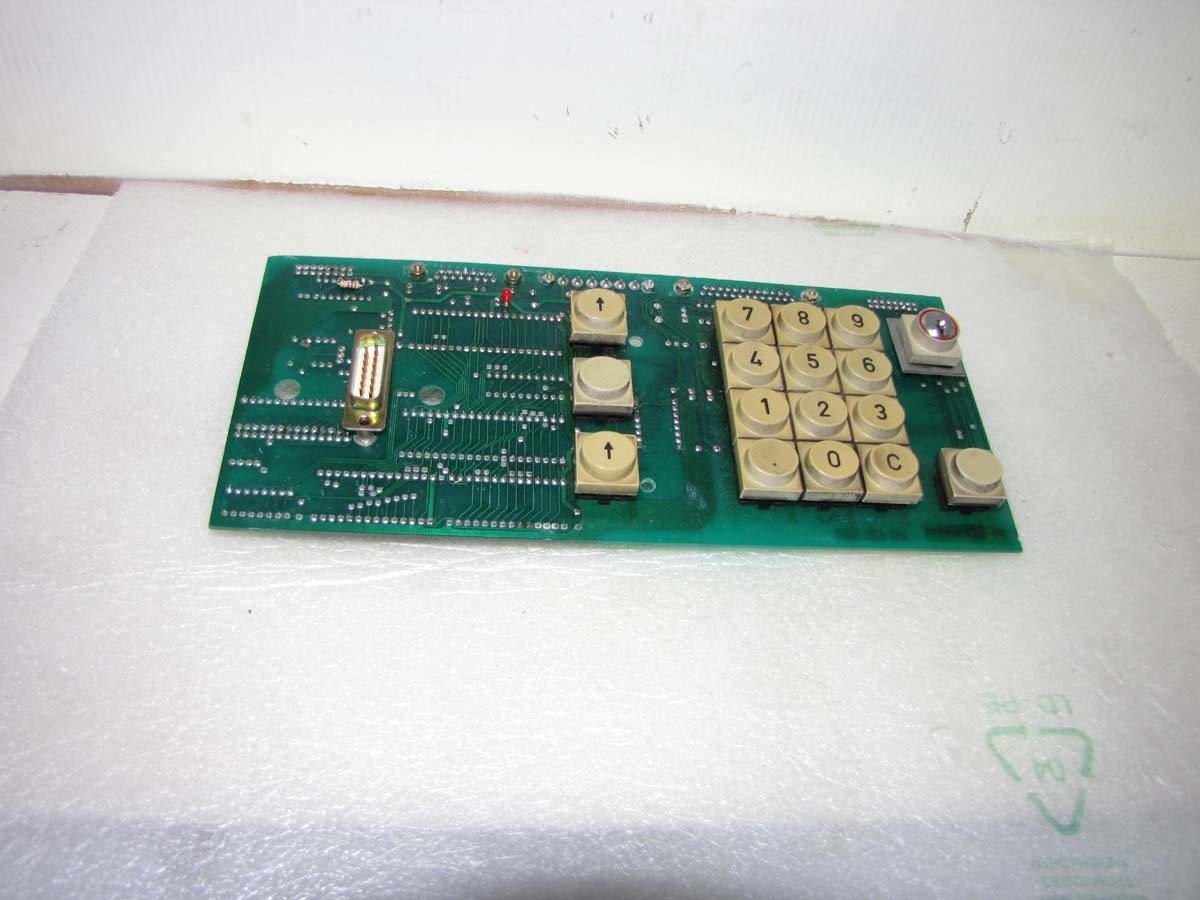 Battenfeld Unilog 2040 control panel cpu card