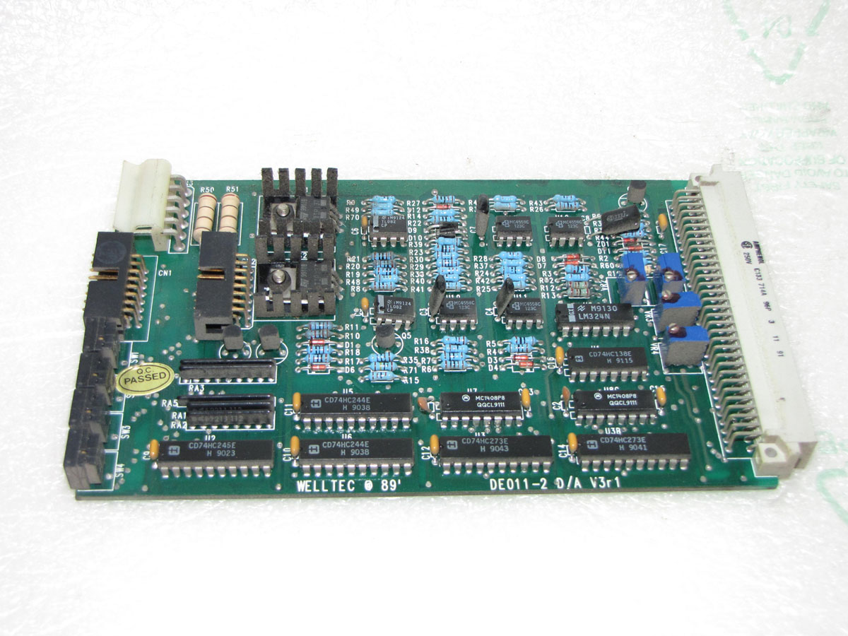 COSMOS WELLECT DE011-1 D-A analog card