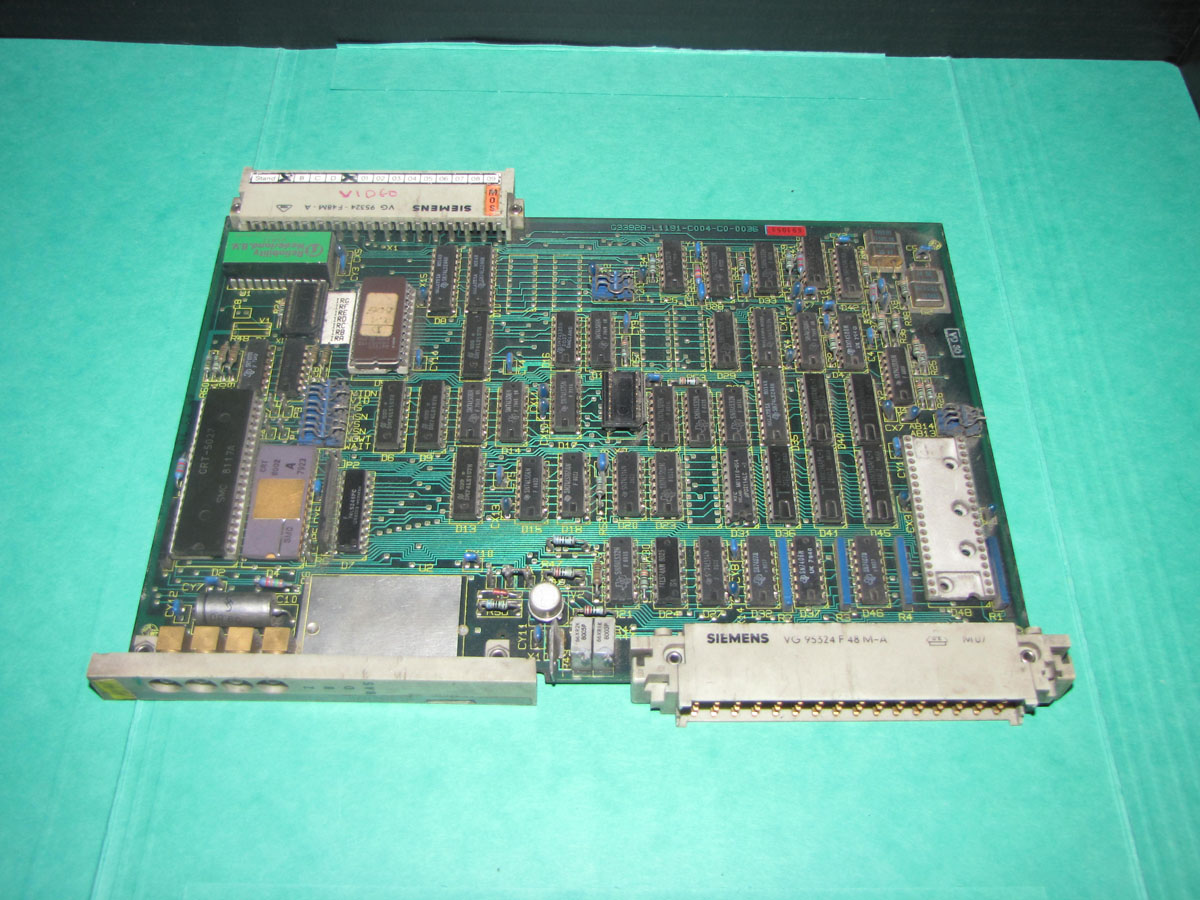 Demag NCII system video card