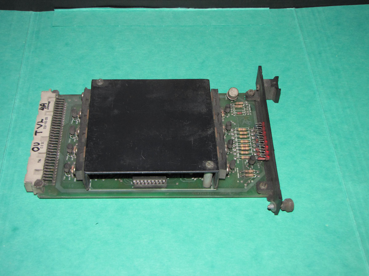 ITALTECH 16X24V dc  out valve card