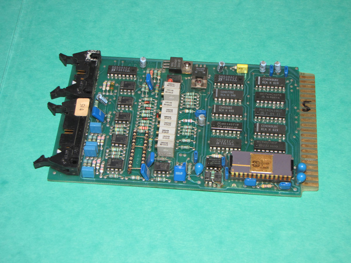 Negri Bossi  MICRO-AD-1-CS0408 analog to digital card