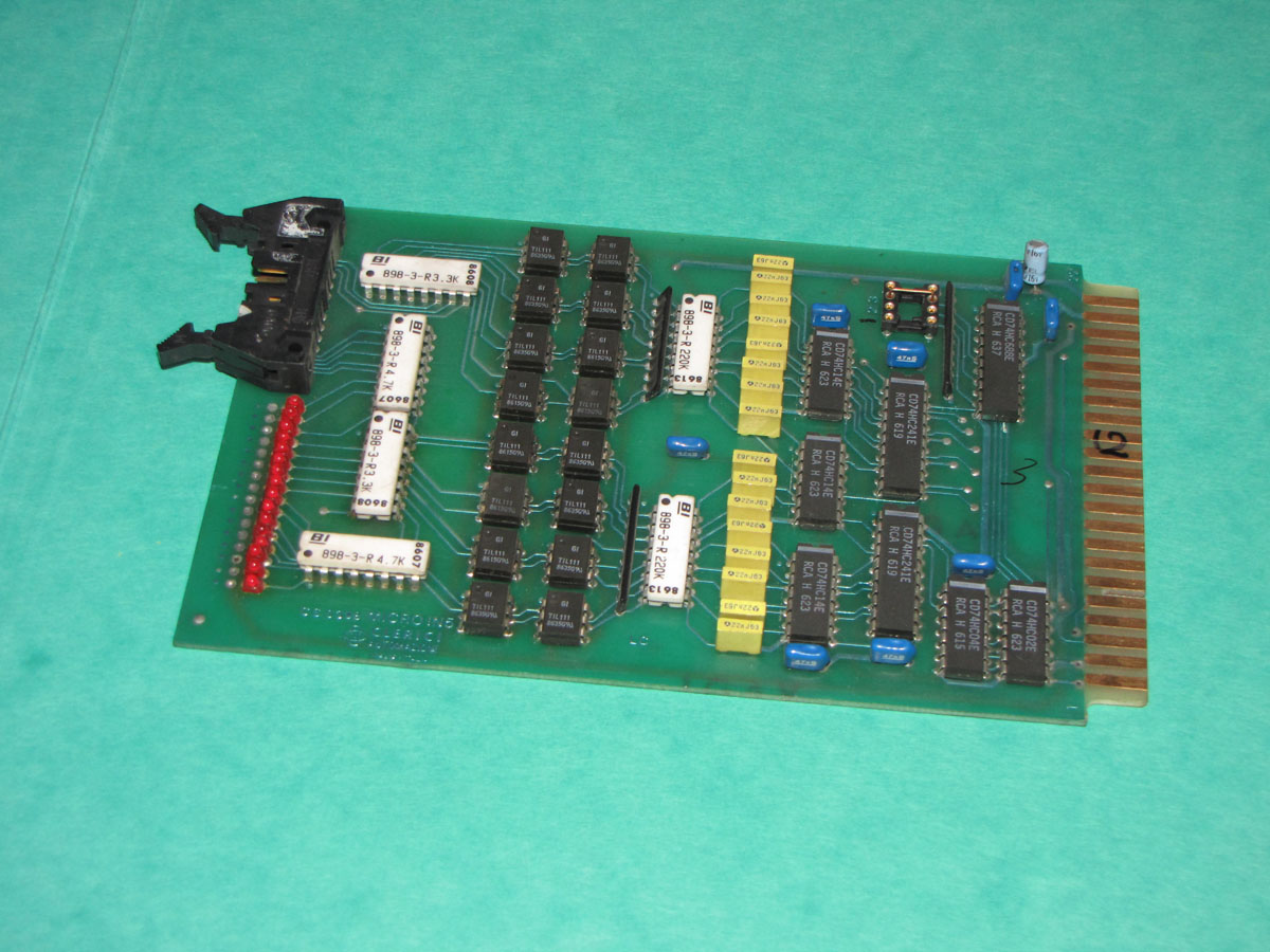 Negri Bossi  MICRO-IN5- CS0398 input  card1
