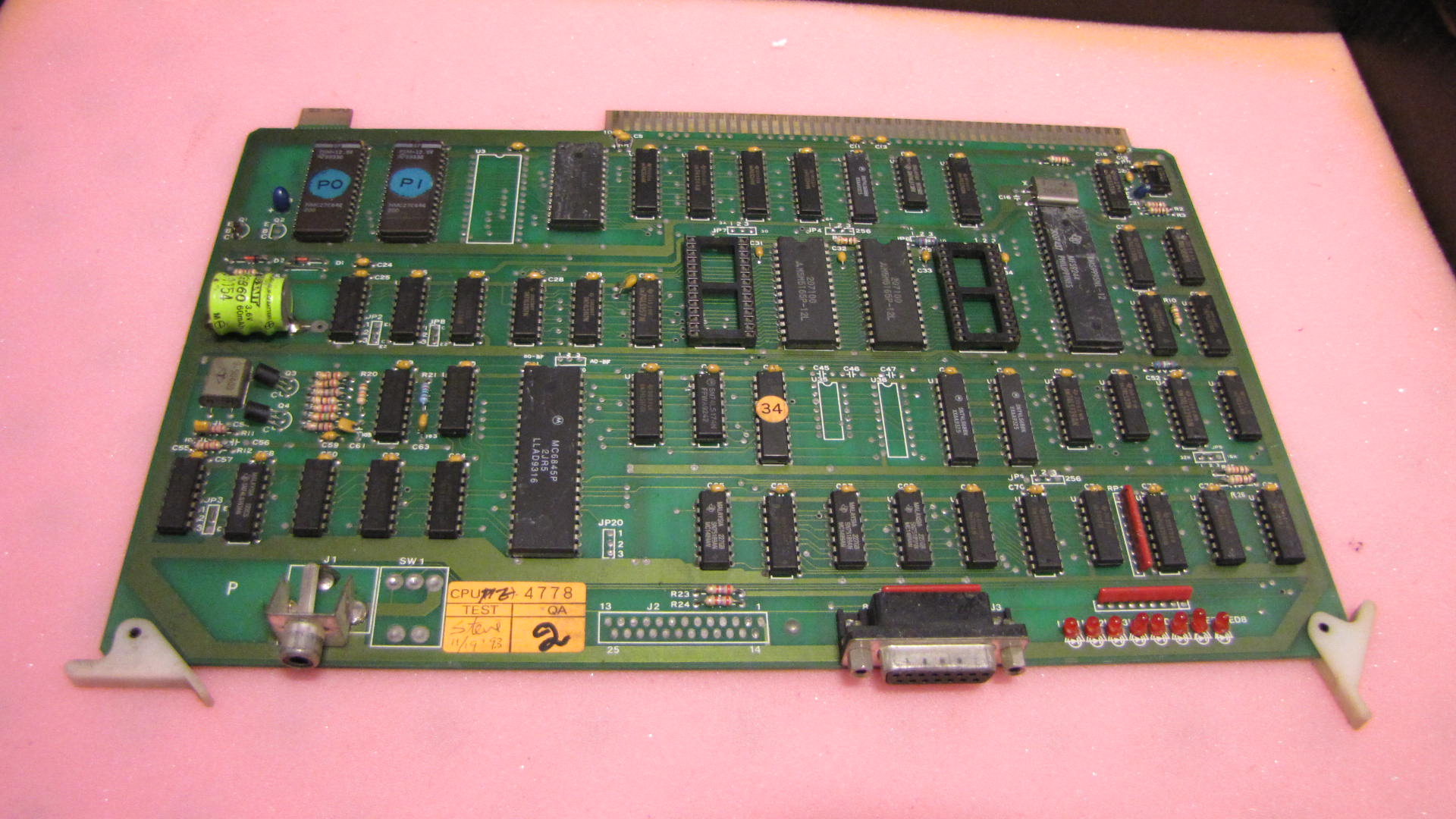 TITAN plastic machine main CPU card