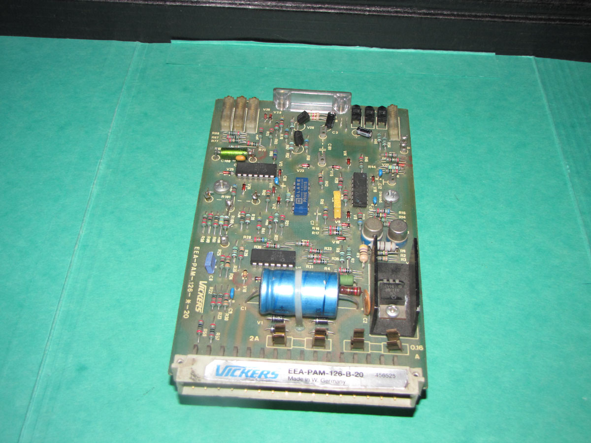 Vickers EEA-PAM-126-B-20 propotional  valve card